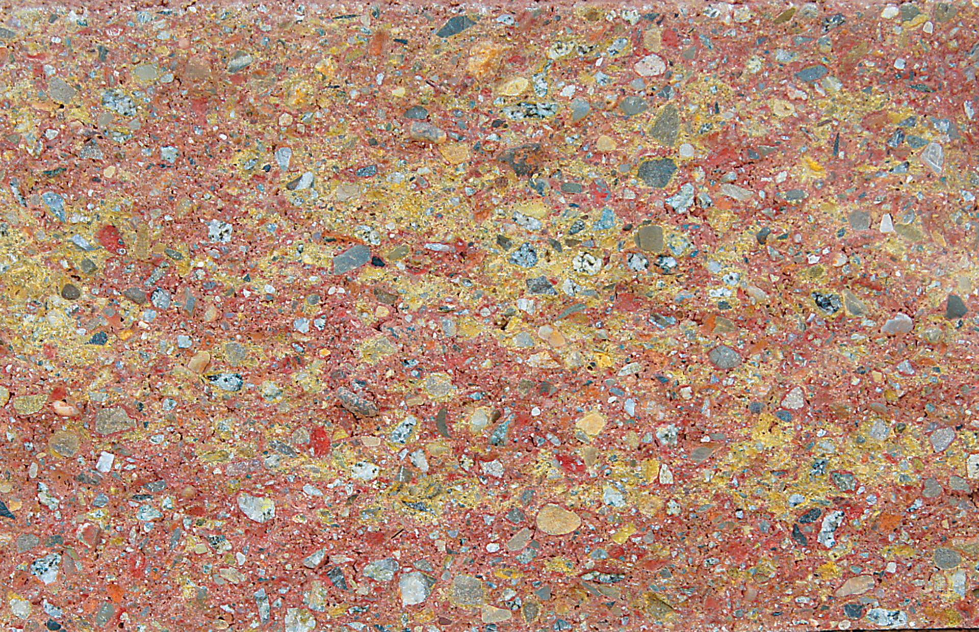 Farby jesene lámaný kameň